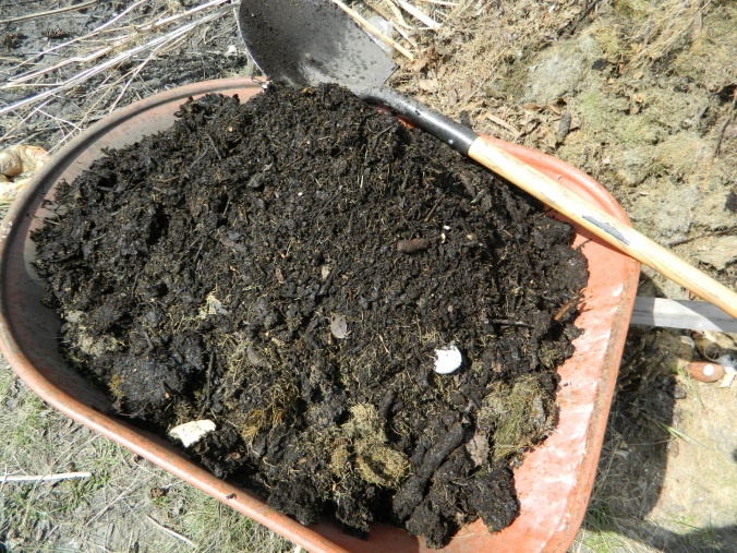 Finished compost