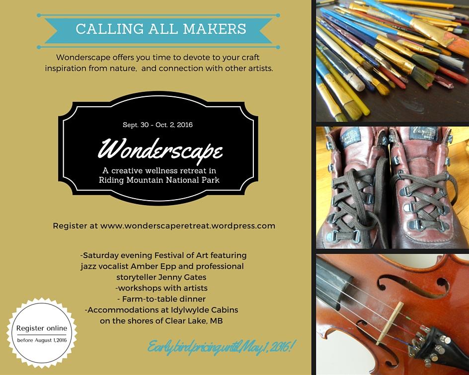 Wonderscape; a creative wellness retreat