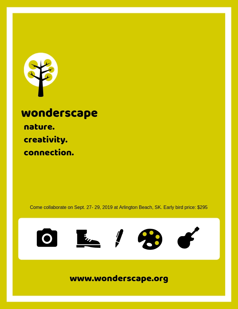 wonderscape poster